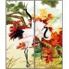南京三维光栅立体艺术玻璃移门