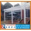 上海庭院葡萄架/上海别墅葡萄架/白色仿欧式美观牢固