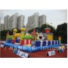 佛山大型庆典城堡定做东莞充气儿童乐园气垫闯关玩具充气水池