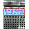 供应台湾屋顶花园车库塑料排水板台北车库排水板(土工布)
