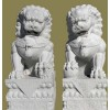 艺术品非常的流行的石狮子