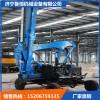 专业装载机护栏打桩机生产厂家 高速公路用装载机护栏打桩机