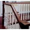 品家 别墅实木楼梯 家用室内实木楼梯 实木立柱马德里51号柱
