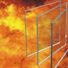 铯钾单片防火玻璃