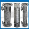 东北供暖换热器 吉林管壳式汽水换热器 螺旋绕管导热油换热器
