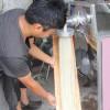 免费培训技术 免费赠送配方 小型家用粉条机的 操作视频