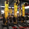 KQZ-180D气电联动潜孔钻机 风压式凿岩打井设备180气动钻机