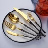 供应金银器餐具翻新金饭碗连盖镀金银筷子筷子架 小蛮腰刀叉